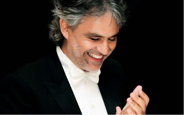 Andrea Bocelli официальный сайи