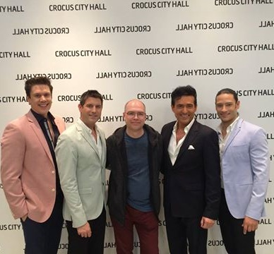 IL DIVO, Russia, Moscow