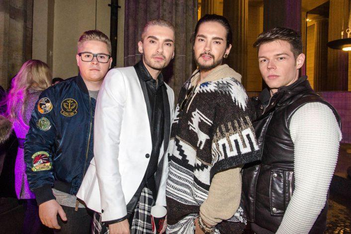 Страница Tokio Hotel на сайте официального букинг-агента Bnmusic