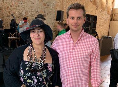 Мариам Мерабова в Барселоне с букинг-агентом BnMusic