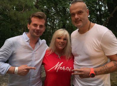 Саманта Фокс на концерте в Словакии с букинг-агентом BnMusic