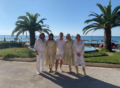 ABBA Mania в Греции на частном мероприятии с букинг-агентом BnMusic