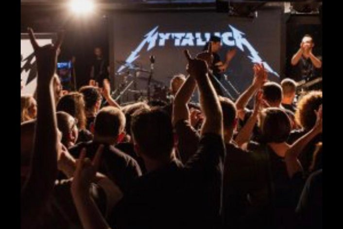 Страница Metallica tribute на сайте официального букинг-агента Bnmusic