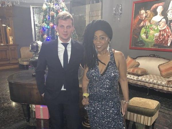 Sheyla Bonnick в Киеве в новогоднюю ночь